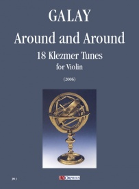 Around and Around - 18 Klezmer Tunes for Violin published by UT Orpheus