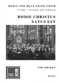 Knight: Hodie Christus Natus Est TTBB published by Knight