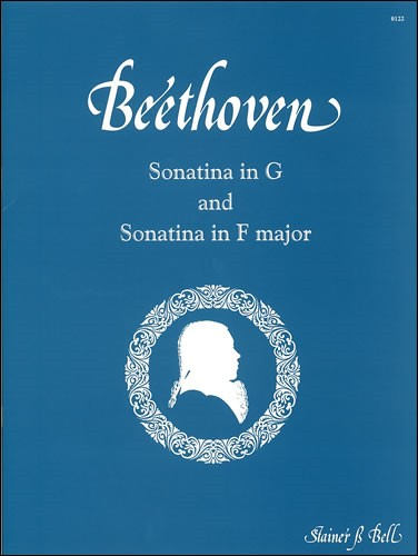 Beethoven: Two Sonatinas in G and F for Piano published by Stainer & Bell