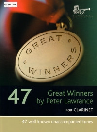 Great Winners for Clarinet Book & CD published by Brasswind