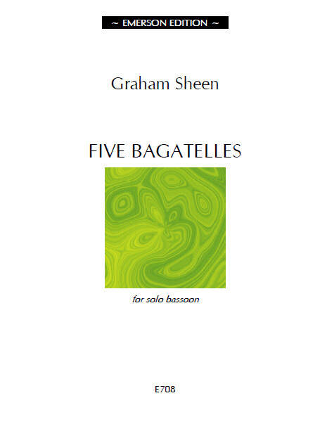 Sheen: 5 Bagatelles for Bassoon published by Emerson
