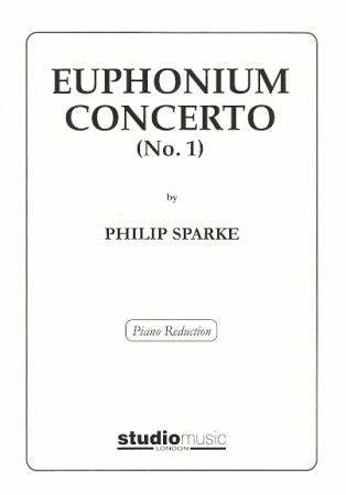 Sparke: Concerto No 1 for Euphonium published by Studio