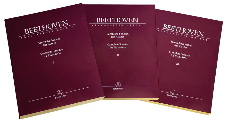 Beethoven: Complete Piano Sonatas Volumes 1 - 3 published by Barenreiter