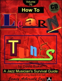 Aebersold 76 How to Learn Tunes Book & CD for All Instruments