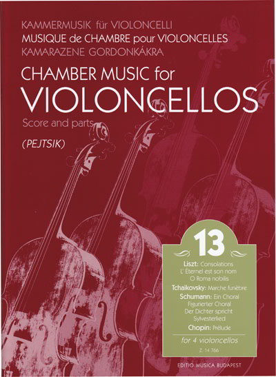 Chamber Music for Cellos Volume 13 published by EMB