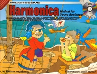 Progressive Harmonica Method for Young Beginners Book & CD published by Koala