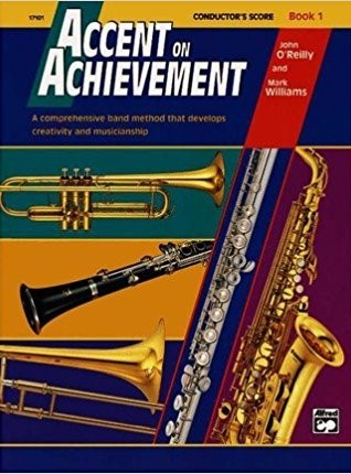 Accent On Achievement - Book 1 Conductor's Score published by Alfred