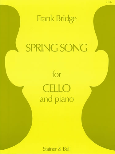Bridge: Spring Song for Cello published by Stainer and Bell
