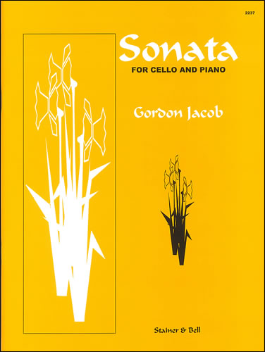 Jacob: Sonata for Cello published by Stainer and Bell