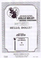 Herman: Hello Dolly SATB published by IMP
