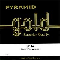 Pyramid Gold Set of Cello Strings 4/4