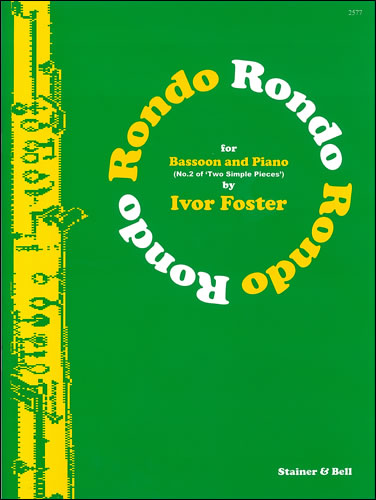 Foster: Rondo for Bassoon & Piano published by Stainer & Bell