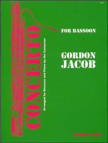 Jacob: Concerto for Bassoon published by Stainer & Bell