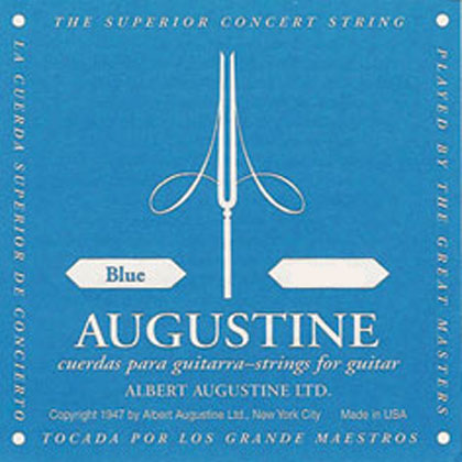 Augustine Blue Label Classical Single String D-4th