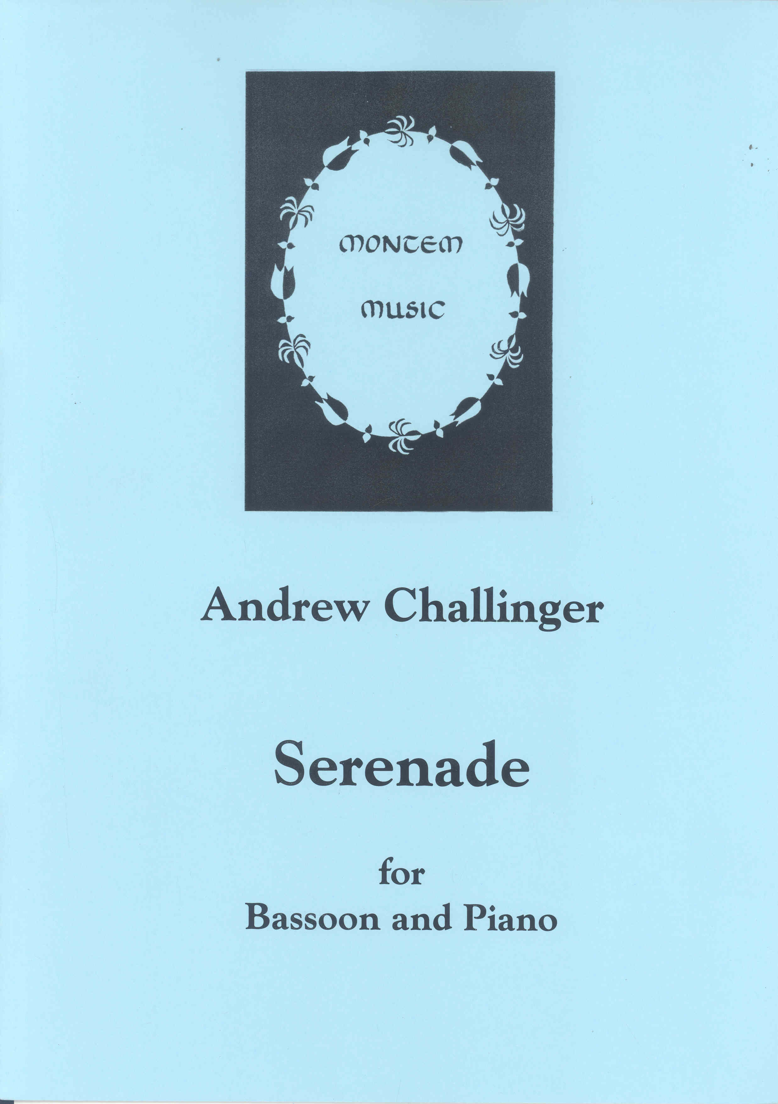 Challinger: Serenade for Bassoon published by Montem