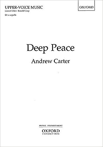Carter: Deep Peace SA published by OUP
