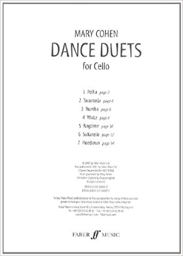 Cohen: Dance Duets for Cello published by Faber