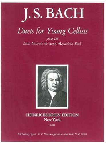 Bach: Duets for Young Cellists published by Heinrichshofen