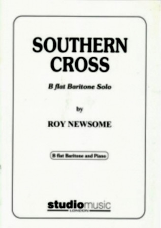 Newsome: Southern Cross for Bb Baritone published by Studio