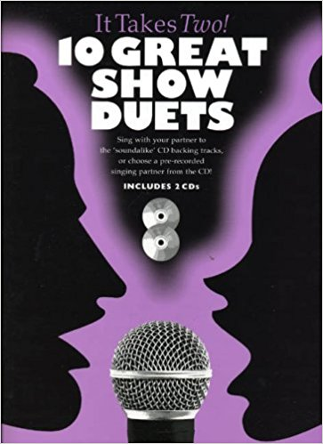 It Takes Two -10 Great Show Duets Book & CD published by Wise