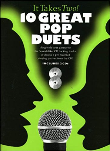 It Takes Two -10 Great Pop Duets Book & CD published by Wise