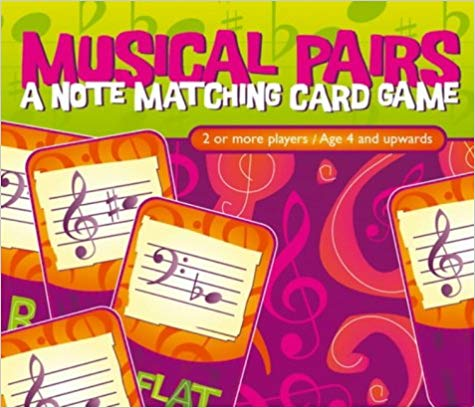 Musical Pairs - Card Game