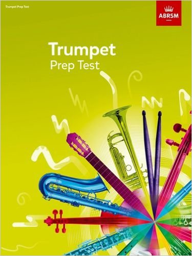Trumpet Prep Test published by ABRSM