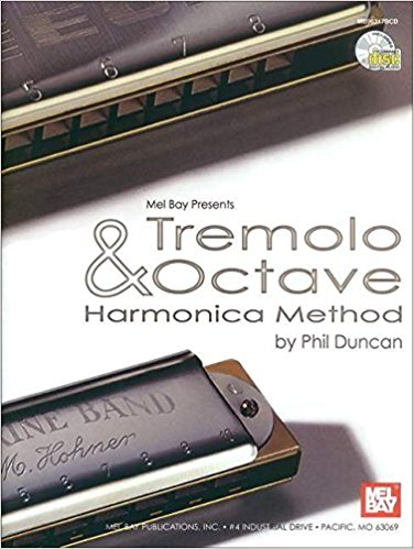 Tremolo and Octave Harmonica Method Book & CD published by Mel Bay