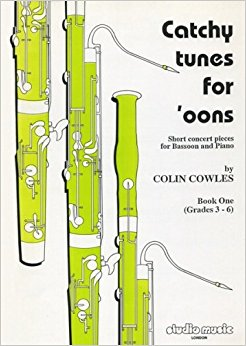 Cowles: Catchy Tunes for 'Oons Vol. 1 for Bassoon published by Studio Music