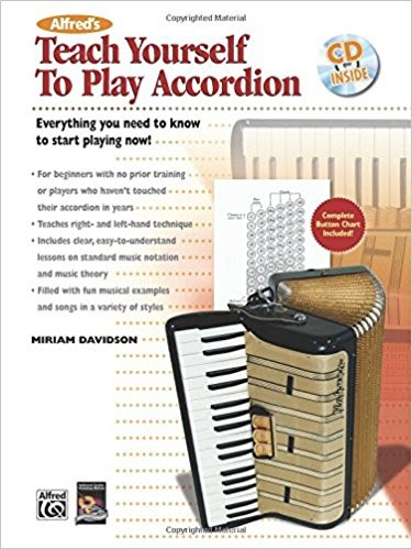 Teach Yourself to Play Accordion Book & CD published by Alfred