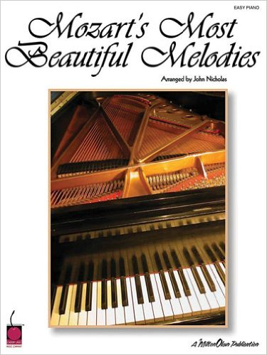 Mozart's Most Beautiful Melodies for Easy Piano published by Cherry Lane