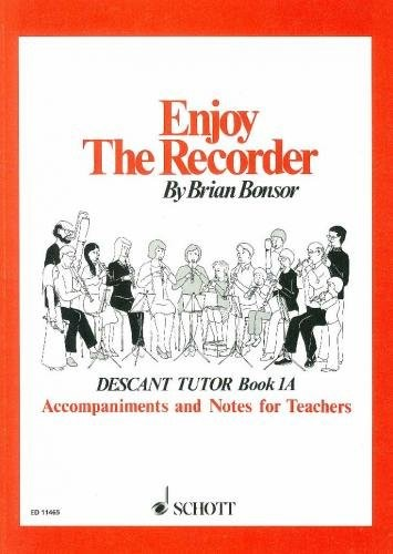 Enjoy the Recorder Book 1A by Bonsor published by Schott