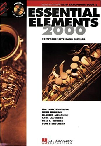 Essential Elements 2000 Book 2 CD for Alto Saxophone published by Hal Leonard
