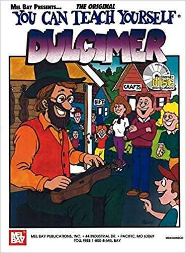 You Can Teach Yourself Dulcimer Book & CD published by Mel Bay