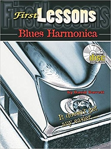 First Lessons Blues Harmonica Book & CD published by Mel Bay