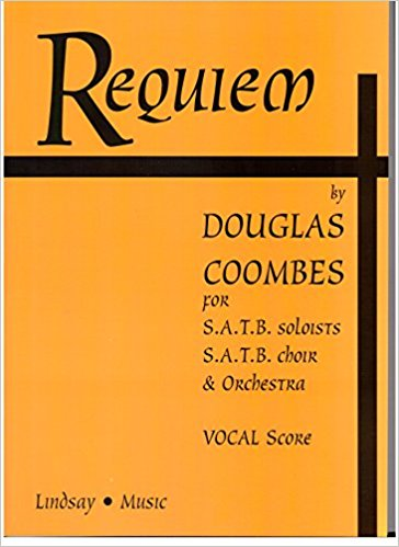 Coombes: Requiem published by Lindsay - Vocal Score