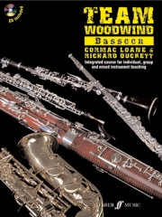 Team Woodwind Book & CD for Bassoon published by Faber