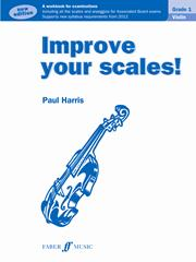 Improve Your Scales Grade 1 for Violin published by Faber