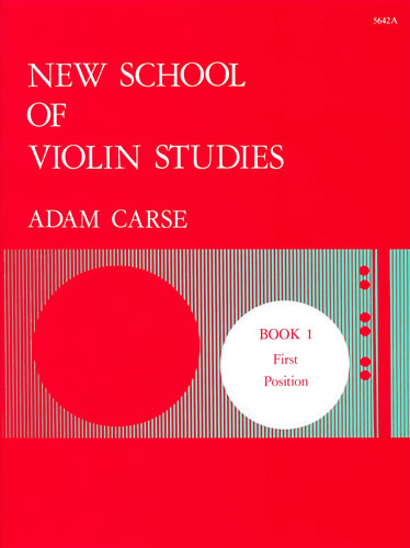 Carse: New School of Violin Studies Book 1 (First Position) published by Stainer and Bell