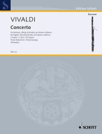 Vivaldi: Concerto in C RV472 for Bassoon published by Schott