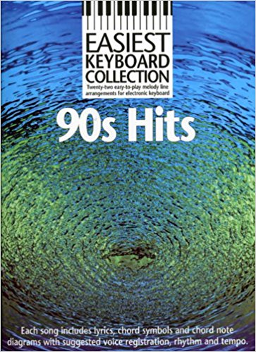 Easiest Keyboard Collection : 90s Hits published by Wise