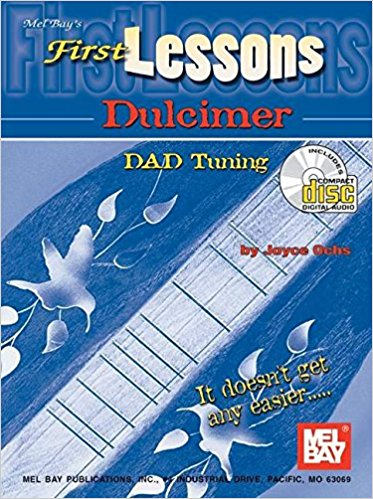 First Lessons for Dulcimer Book & CD published by Mel Bay
