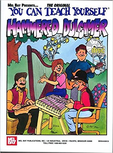 You Can Teach Yourself Hammered Dulcimer Book & CD published by Mel Bay