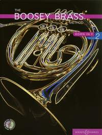 Boosey Brass Method 2 Book & CD for French Horn