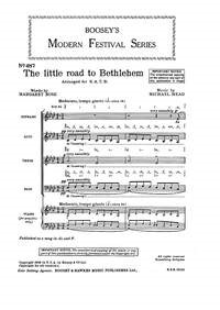 Head: The little road to Bethlehem SATB published by Boosey & Hawkes