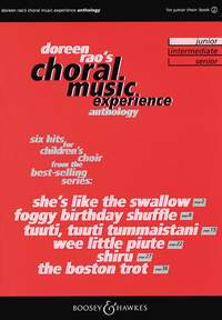 Choral Music Experience Anthology 2 (junior) SSA published by Boosey & Hawkes