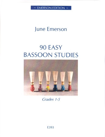 Emerson: 90 Easy Bassoon Studies published by Emerson