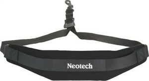 Neotech Soft Sax Strap Black Regular with Swivel hook