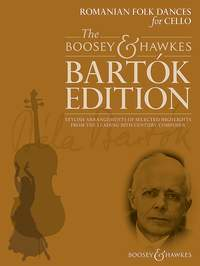 Bartok: Romanian Folk Dances for Cello published by Boosey & Hawkes