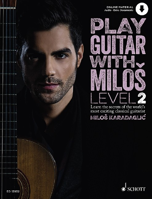 Play Guitar with Miloš 2 published by Schott (Book/Online Audio)